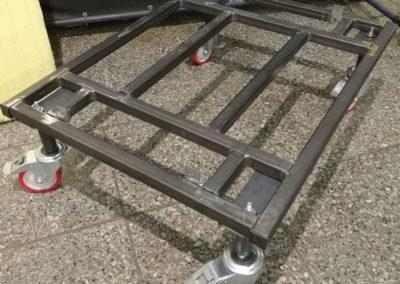 Platforma stalowa spawana